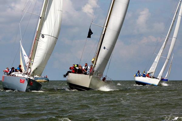 8 uurs race op het IJsselmeer