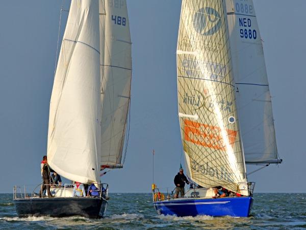 Match Race met onze IMX 38 zeiljachten