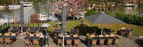 terras fort H catering bedrijfsuitje