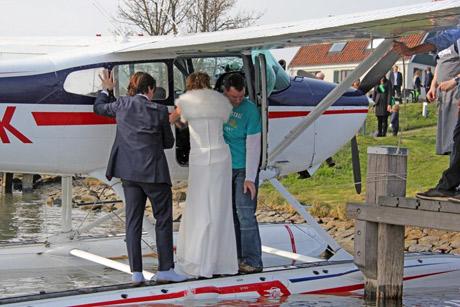 Bruiloft op Pampus