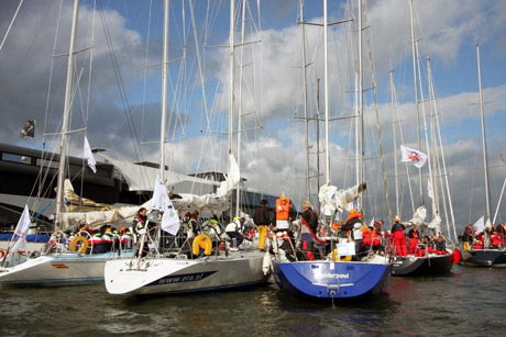 Zeilevenement op Pampus door SailingEvents