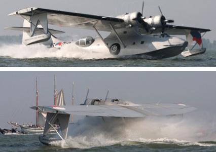 vergunning voor watervliegtuig