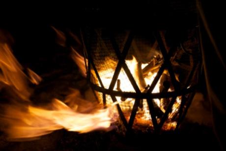 Vuurkorf voor extra sfeer