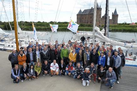 Bedrijfsuitje op het water 2013