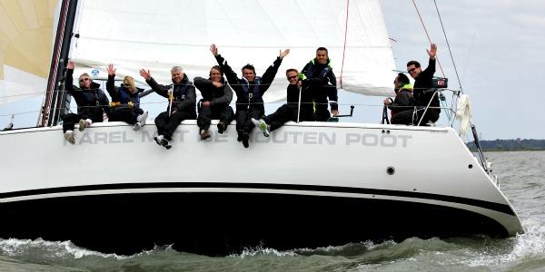 Teambuilding op het IJsselmeer