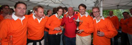 winnend team zeilwedstrijd Muiden