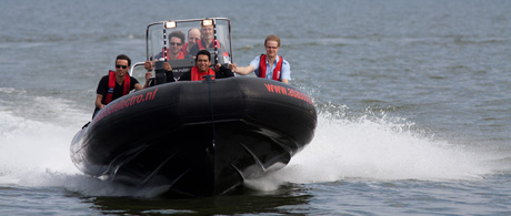 Rally RIB varen op het IJsselmeer of Markermeer